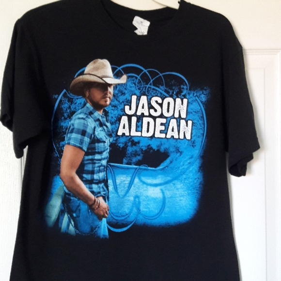 Anvil Tops - Jason Aldean 2011 concert T-shirt Med